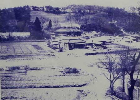 [옛사진]1960년대 말 안양 호계2동(호계도서관 주변)
