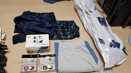 일본 우에노에서 사온 골프 관련 용품들
