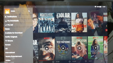 fire hd 10 넷플릭스 저장하기 이슈와 앱 버젼별 로그인 이슈 해결