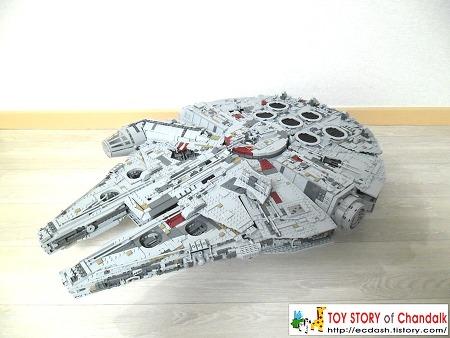 [레핀] 05132 - LEPIN UCS STAR PLAN Millennium Falcon / 레핀 UCS 스타플랜 밀레니엄 팔콘