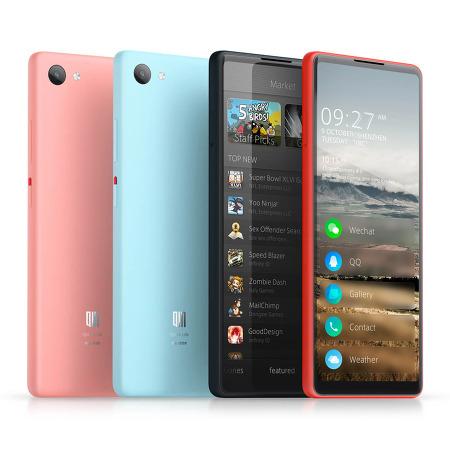 샤오미 - 안드로이드고를 탑재한 'Qin 안드로이드 고(Qin Android Go)' 발표