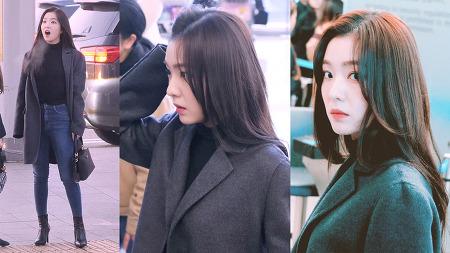 200110 인천공항 출국 레드벨벳 아이린 직캠 by 스피넬