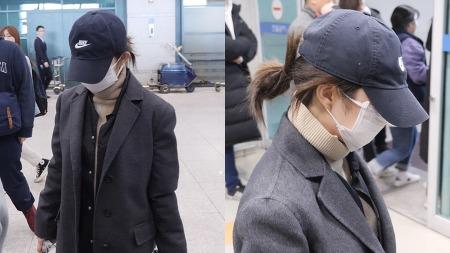 200112 인천공항 입국 레드벨벳 아이린 직캠 by 스피넬