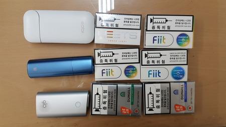 KT&G 릴(lil), 아이코스(IQOS), 글로(glo) 장단점 비교기 - 휴대성, 흡연의 편의성, 청소의 용이성, 디자인, 기타 측면에서