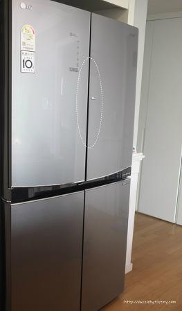 냉장고문 고무패킹이 헐거워졌을 때
