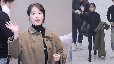 191226 인천공항 출국 아이유 직캠 by 스피넬