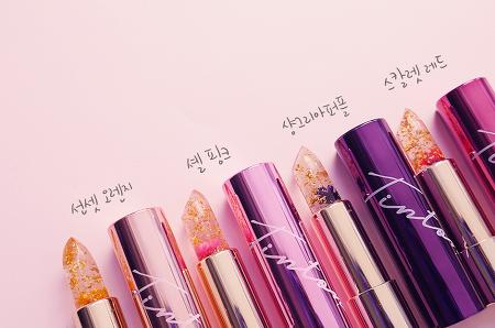 #김우리 #틴톤 시크릿 젤리 립스틱 사용 후기 🌸내 파우치에도 봄이 오나봄🌸