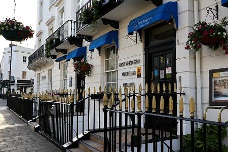 [호텔] 베스트웨스턴 빅토리아 팔래스, 런던