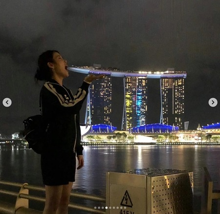 아이유가 찍은 사진속 싱가포르 여행지, 거긴 어디 ??