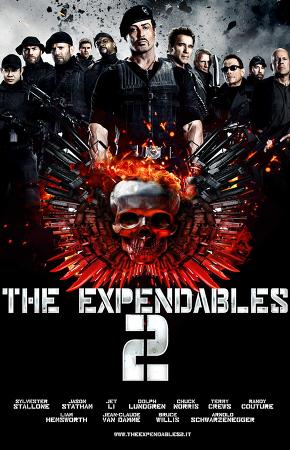 익스펜더블 2 (2012) The Expendables II - 척 노리스, 장 끌로드 반담