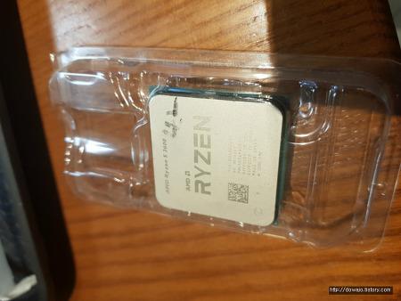 AMD Ryzen 5 3600 6-Core 실물사진 실사용후기