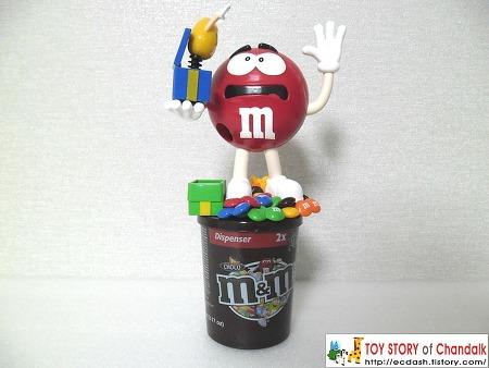 [피규어] 엠엔엠 디스펜서 피규어 (m&m dispenser)
