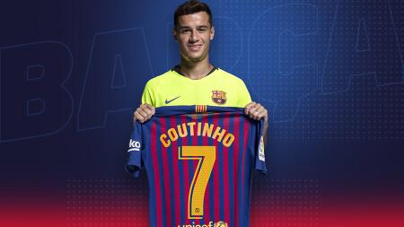 [오피셜] 바르셀로나의 새로운 7번