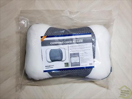 코코 메모리폼 베개를 샀습니다.