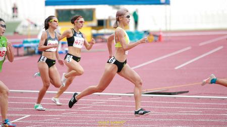극한의 스피드와 체력전 남녀 400m 결승 장면 제100회 전국체육대회