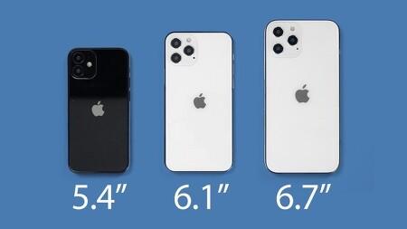 아이폰 12 미니, 아이폰 12, 아이폰 12 프로와 아이폰 12 프로 맥스