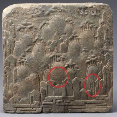 백제 예술의 투톱, '8가지 무늬 전돌' 중 최초·최고의 산수인물화 있다