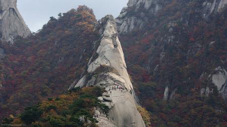 삼각산(북한산) 숨은벽 (2019갈) 경기 고양시 효자동