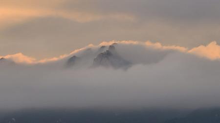 도봉산의 노을과 구름 (2020여름) 도봉산 연하 사진 몇 점