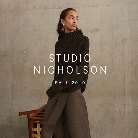 STUDIO NICHOLSON : 2019 FALL/WINTER COLLECTION