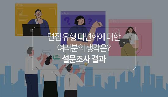 응답자 54.5%가 까다롭게 느끼는 면접 유형은? 다양해진 면접에 대한 설문조사 결과 공개