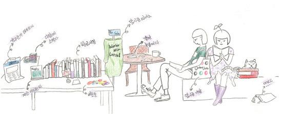[스케치]Marxism2010 Book Cafe