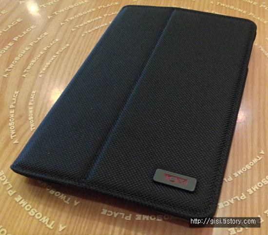 TUMI iPad mini 커버 지름