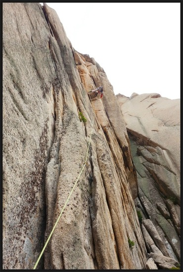 설악산 울산암 신루트 그린나래 등반사진 2