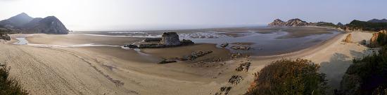 대청도 농여해변 미스테리 - 불가사의한 문자바위 발견