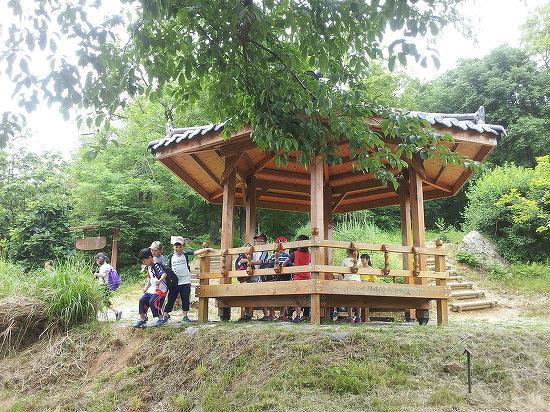경기도 시흥시 옥구공원에서