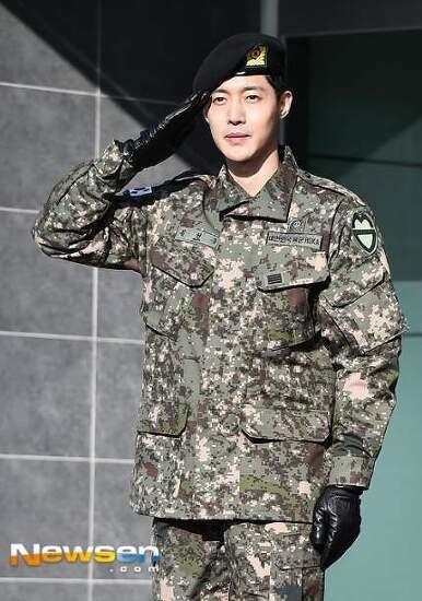 김현중 전역식 사진