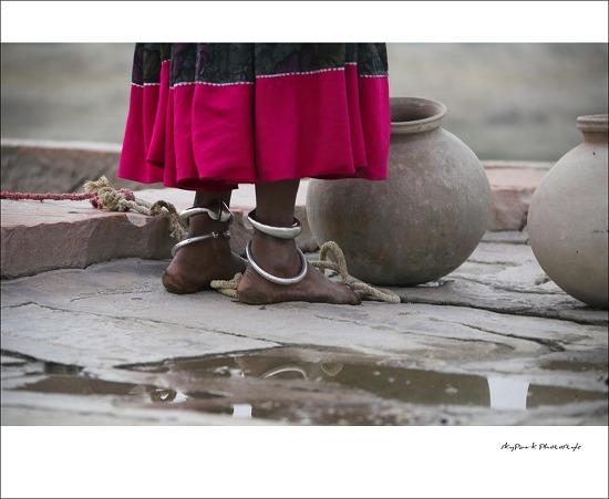[ India Rajasthan ] 우물가의 여인