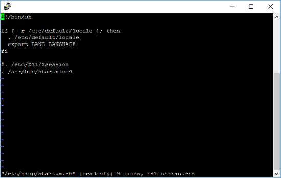 To install XRDP to use Windows remote desktop for Ubuntu