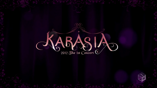 131129 M-ON  KARA LIVE in SEOUL KARASIA 2012 / 120219 KARA 2012 The 1st Concert Olympic Gymnastics Arena Seoul