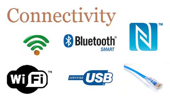 Connectivity-WiFi/Bluetooth/USB/NFC/Ethernet