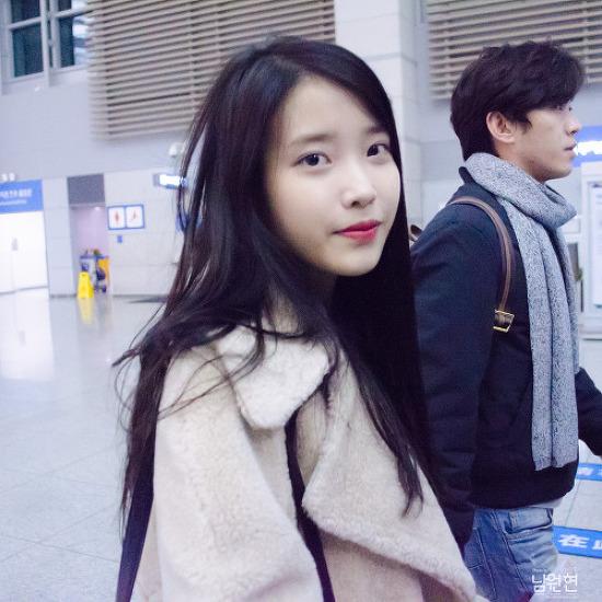 160131 아이유님 인천공항 출국 직찍 by 남원현