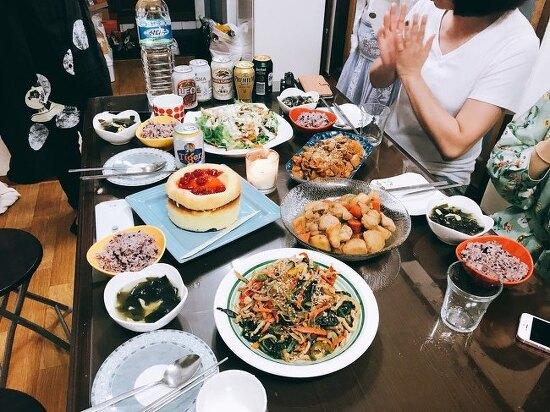 홍콩 여행객 생일상 : 2017/05/20
