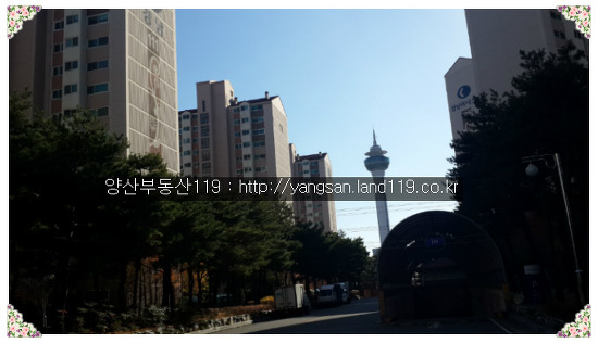 [남부동 아파트] - 남부동 경남아너스빌아파트 전경 사진