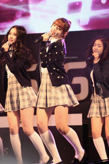 KT 기가 레전드매치 - 가수 여자친구 [16.02.20]
