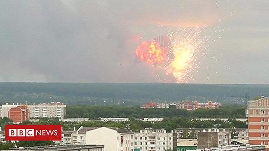 러시아 핵미사일 사고, 피폭사망자 발생하고 방사능 수치 20배까지 올라