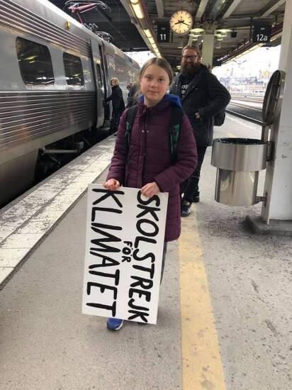 [NGO 발언대]전 세계 청소년들의 '기후를 위한 학교 파업'