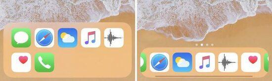 Docky: 아이폰 하단독의 앱 갯수를 늘려주고 스크롤 기능을 추가해주는 트윅 [iOS12.4]