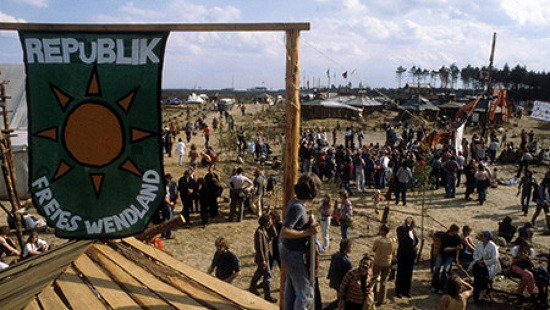 기후캠프 한 세대 전, '벤트란트 자유공화국'