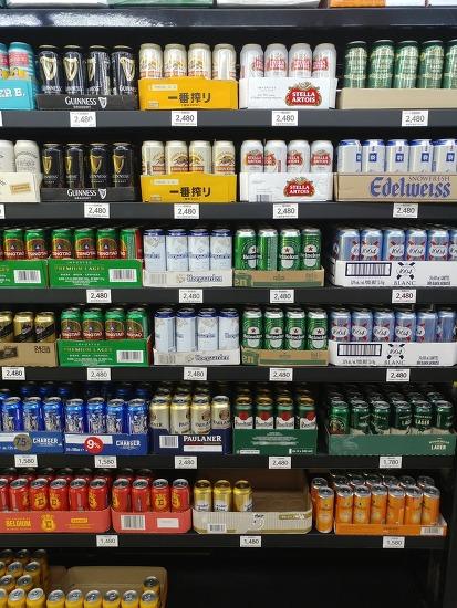 노브랜드 수입맥주 가격 저렴하네요. 블랑, 기네스, 칭따오, 하이네켄, 호가든 전부 2,480원!