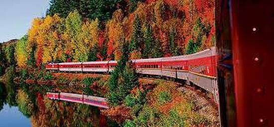 기차여행; 이보다 더 멋진 단풍은 없다- 캐나다 아가와 캐년의 비경