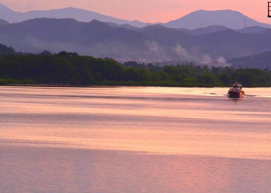 대구여행 ㅡ 사문진나루터의 석양