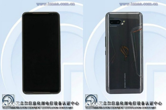ASUS - ROG Phone 2, Tenaa 인증을 통해 5800mAh 배터리 및 6.59인치 디스플레이 탑재 확인