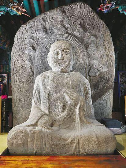 '광대 얼굴'의 부처님…'백제의 미소'로 복원해야 할 과정
