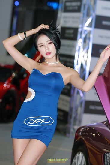 모델 김서하 (민유린) 2019 오토살롱위크 JAJ 제이앤제이 인터내셔널