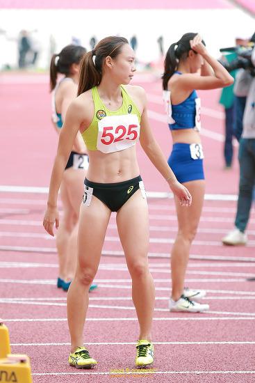 극도의 긴장감 육상 100m 결승 스타트 라인 제100회 전국체육대회